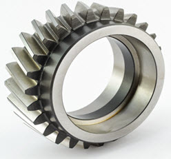 helical gear hobbing & machining